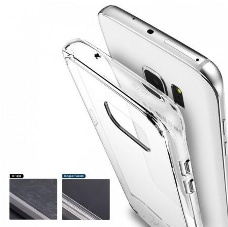 Husa Ringke FUSION SMOKE BLACK pentru Samsung Galaxy S75