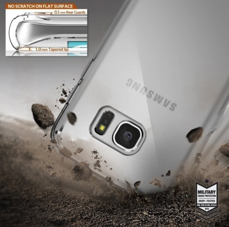 Husa Ringke FUSION SMOKE BLACK pentru Samsung Galaxy S76