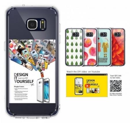 Husa Ringke FUSION SMOKE BLACK pentru Samsung Galaxy S77