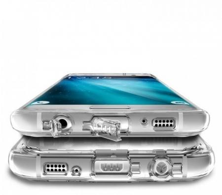 Husa Edge Ringke MIRROR ROSE GOLD pentru Samsung Galaxy S75
