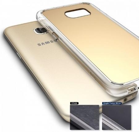 Husa Ringke MIRROR ROYAL GOLD pentru Samsung Galaxy S7 Edge6
