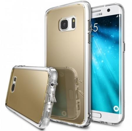 Husa Ringke MIRROR ROYAL GOLD pentru Samsung Galaxy S7 Edge0