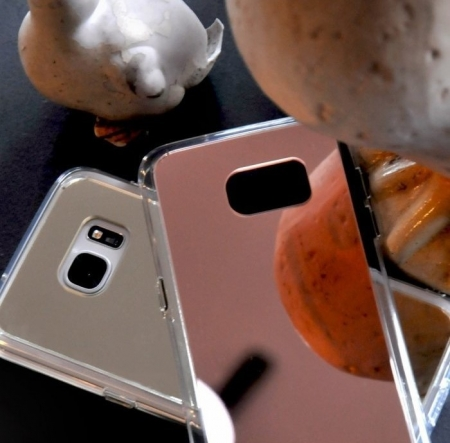 Husa Ringke MIRROR SILVER pentru Samsung Galaxy S7 Edge3