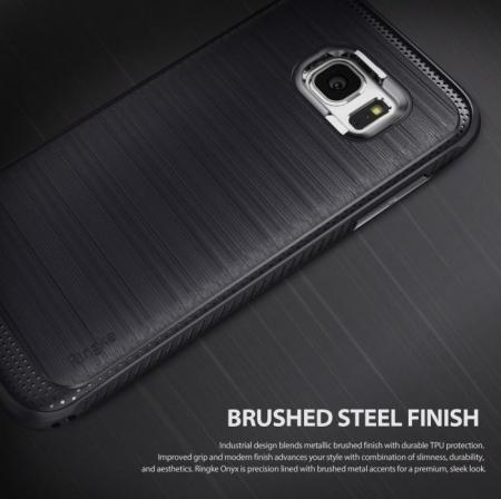 Husa Ringke ONYX MIST GREY pentru Samsung Galaxy S7 Edge3