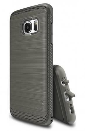 Husa Ringke ONYX MIST GREY pentru Samsung Galaxy S7 Edge0