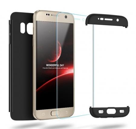 Husa GKK 360 Argintiu pentru Samsung Galaxy S74