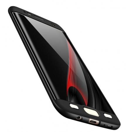 Husa GKK 360 Argintiu pentru Samsung Galaxy S72