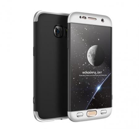 Husa GKK 360 Argintiu pentru Samsung Galaxy S70