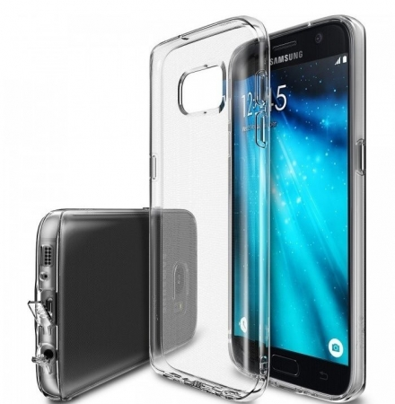 Husa Ringke AIR CRYSTAL VIEW + BONUS folie protectie display Ringke pentru Samsung Galaxy S71