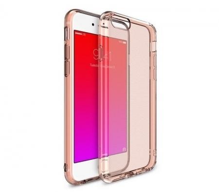 Husa Ringke AIR ROSE GOLD + BONUS folie protectie display Ringke pentru Samsung Galaxy S70