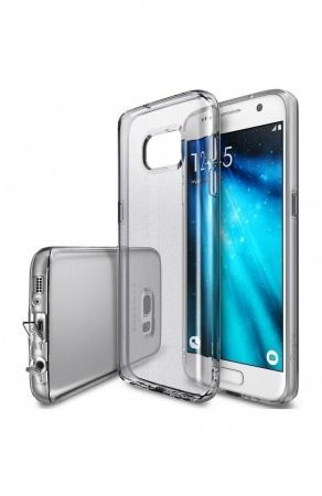 Husa Ringke AIR SMOKE BLACK + BONUS folie protectie display Ringke pentru Samsung Galaxy S70