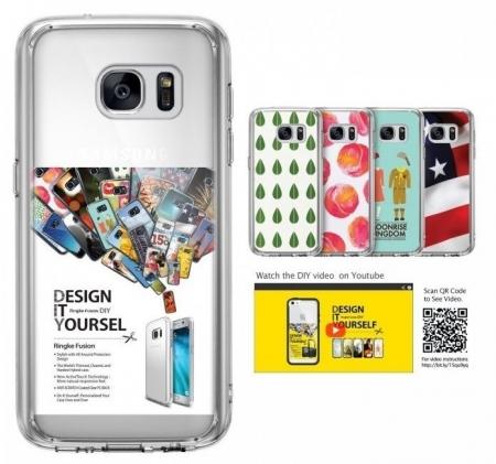 Husa Ringke FUSION CRYSTAL VIEW TRANSPARENT pentru Samsung Galaxy S73