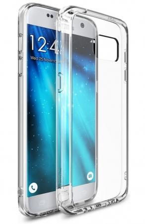 Husa Ringke FUSION CRYSTAL VIEW TRANSPARENT pentru Samsung Galaxy S75