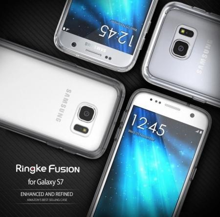 Husa Ringke FUSION CRYSTAL VIEW TRANSPARENT pentru Samsung Galaxy S77