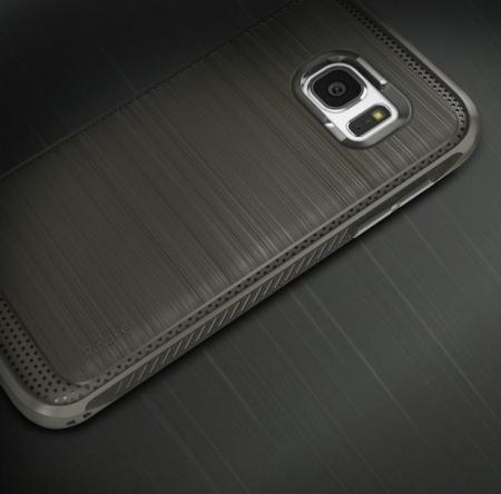 Husa Ringke ONYX midnight navy blue + folie Ringke cadou pentru Samsung Galaxy S70