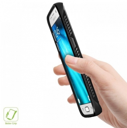 Husa Ringke ONYX midnight navy blue + folie Ringke cadou pentru Samsung Galaxy S74