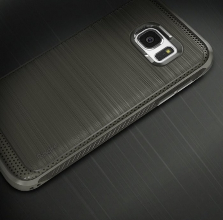 Husa Ringke ONYX MIST GREY + folie Ringke cadou pentru Samsung Galaxy S73