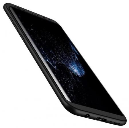 Husa GKK 360 Silver pentru Samsung Galaxy S81