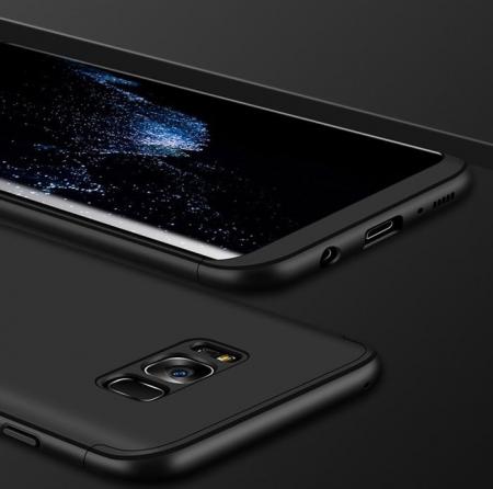 Husa GKK 360 Silver pentru Samsung Galaxy S83