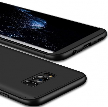 Husa GKK 360 Silver pentru Samsung Galaxy S8 Plus5