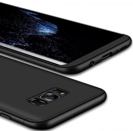 Husa GKK 360 Black pentru Samsung Galaxy S8 Plus5