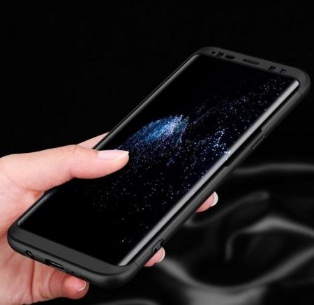 Husa GKK 360 Silver pentru Samsung Galaxy S8 Plus2