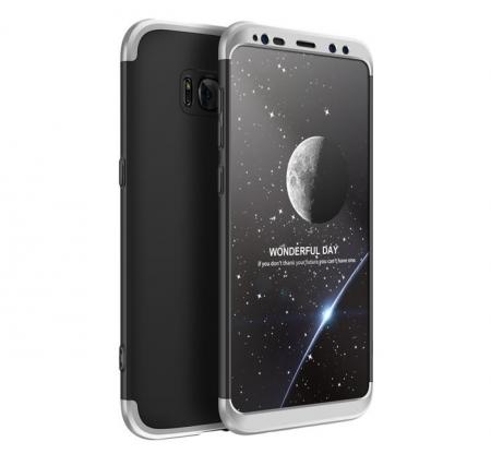 Husa GKK 360 Silver pentru Samsung Galaxy S8 Plus0