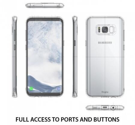 Husa Ringke Air Clear pentru Samsung Galaxy S8 Plus4