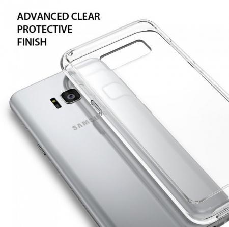Husa Ringke Fusion Clear pentru Samsung Galaxy S8 Plus0