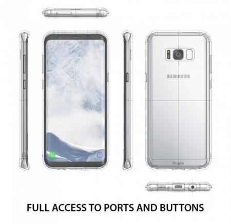 Husa Ringke Fusion Clear pentru Samsung Galaxy S8 Plus3