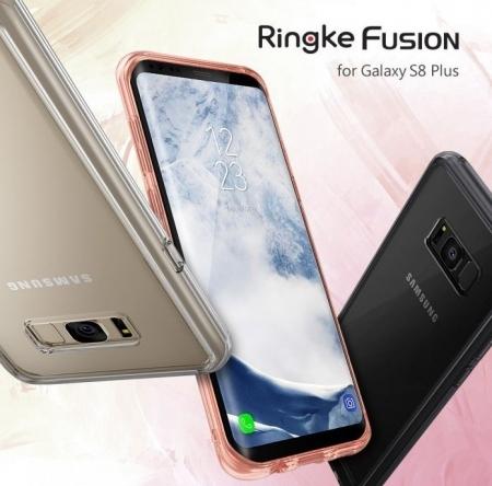 Husa Ringke Fusion Rose Gold pentru Samsung Galaxy S8 Plus3