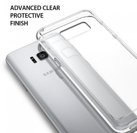 Husa Ringke Fusion Smoke Black pentru Samsung Galaxy S8 Plus6