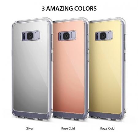 Husa Ringke MIRROR ROYAL GOLD pentru Samsung Galaxy S8 Plus6