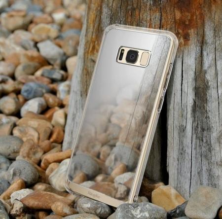 Husa Ringke MIRROR SILVER pentru Samsung Galaxy S8 Plus3