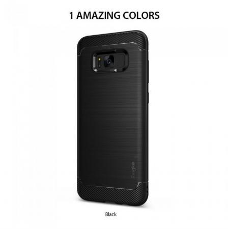 Husa Ringke Onyx Black pentru Samsung Galaxy S8 Plus1