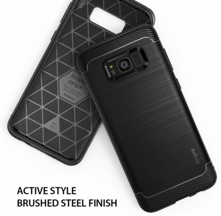 Husa Ringke Onyx Black pentru Samsung Galaxy S8 Plus3