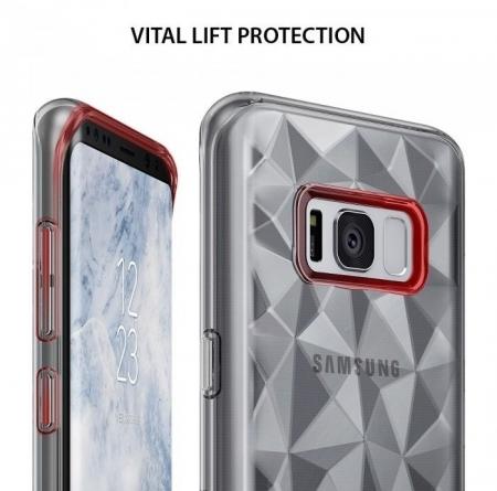 Husa Ringke Prism Clear pentru Samsung Galaxy S8 Plus4
