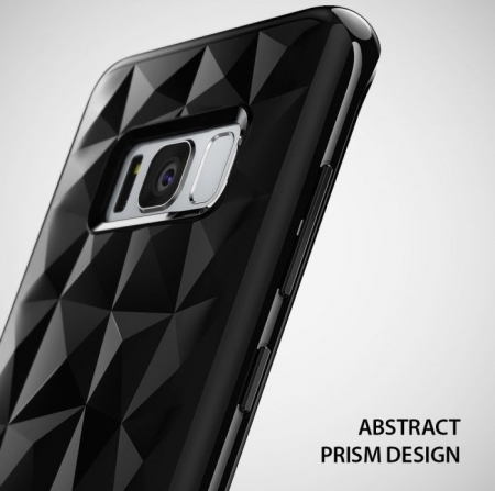 Husa Ringke Prism Clear pentru Samsung Galaxy S8 Plus3