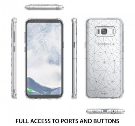 Husa Ringke Prism Clear pentru Samsung Galaxy S8 Plus2