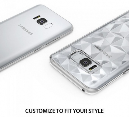 Husa Ringke Prism Ink Black pentru Samsung Galaxy S8 Plus5