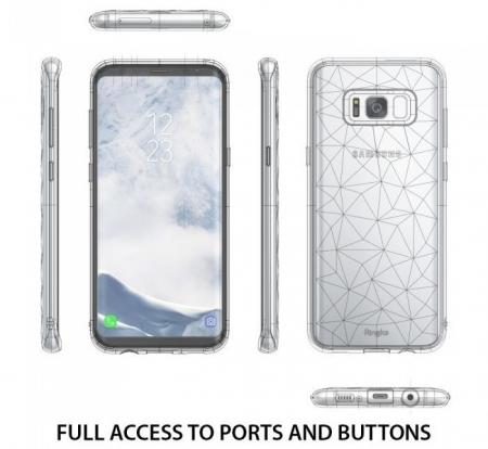 Husa Ringke Prism Ink Black pentru Samsung Galaxy S8 Plus2
