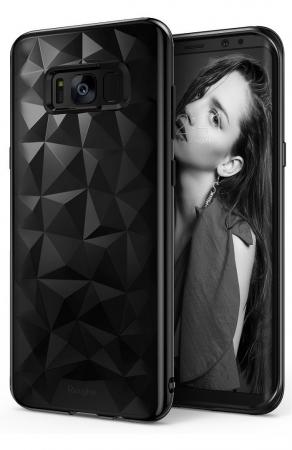 Husa Ringke Prism Ink Black pentru Samsung Galaxy S8 Plus0