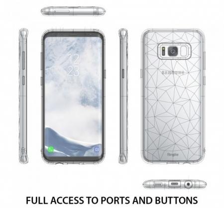 Husa Ringke Prism Rose Gold pentru Samsung Galaxy S8 Plus2
