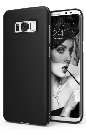 Husa Ringke Slim Black pentru Samsung Galaxy S8 Plus0