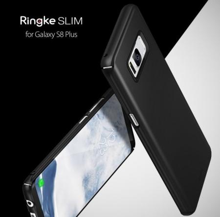 Husa Ringke Slim Black pentru Samsung Galaxy S8 Plus5