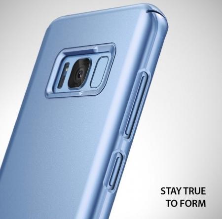 Husa Ringke Slim Blue Pearl pentru Samsung Galaxy S8 Plus1