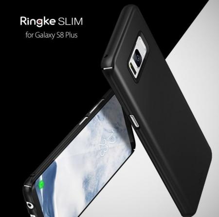 Husa Ringke Slim Blue Pearl pentru Samsung Galaxy S8 Plus5