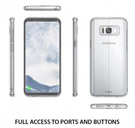 Husa Ringke Slim Frost Blue pentru Samsung Galaxy S8 Plus1