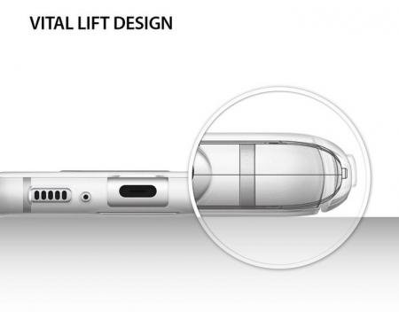 Husa Ringke Slim Frost White pentru Samsung Galaxy S8 Plus7
