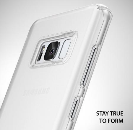 Husa Ringke Slim Frost White pentru Samsung Galaxy S8 Plus2